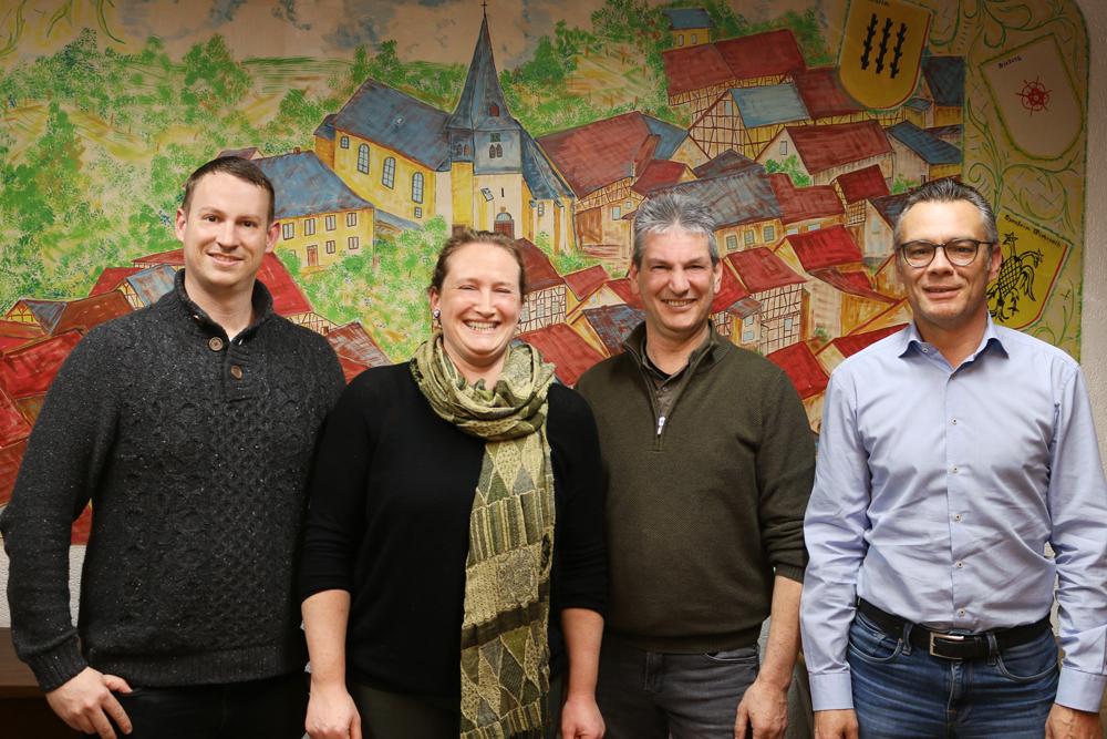 Die Kandidaten der Freien Wähler für die Wahl des Ortsvorstehers und Ortsbeirates in Franken