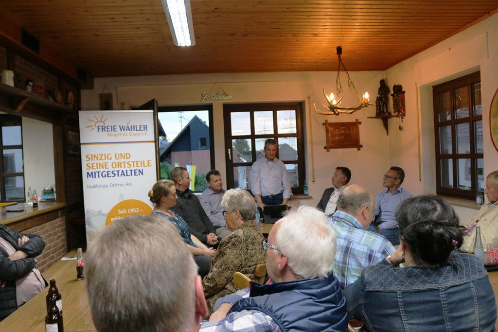 Jürgen Koffer ist der Ortsvorsteher Kandidat der FWG in Franken