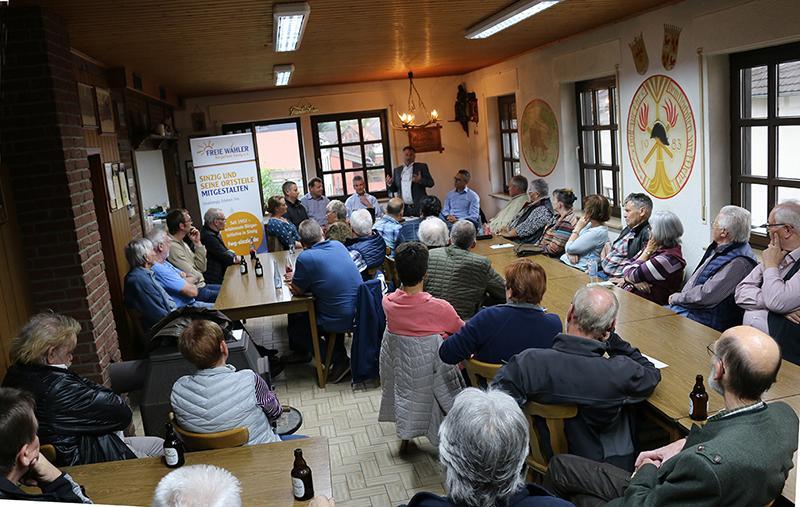 Free Wähler stellten Ortsvorsteherkandidat Jürgen Koffer vor