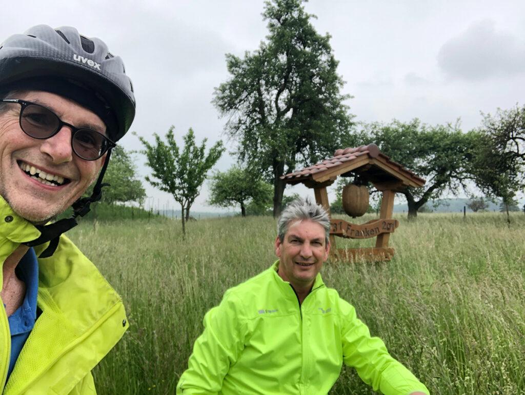 Auch in Franken radelten die FREIEN WÄHLER für ein gutes Klima