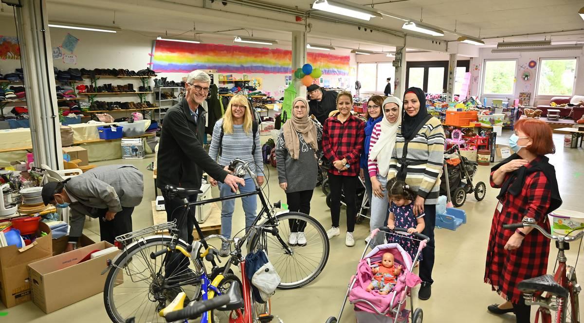 Ideengeber und Ratsmitglied Reiner Friedsam und viele Ehrenamtler organiseren den SpAHRmarkt in Sinzig