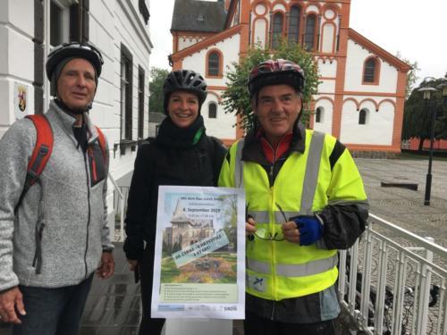Freie Wähler Stadtradeln Start Tour durch die Ortsteile