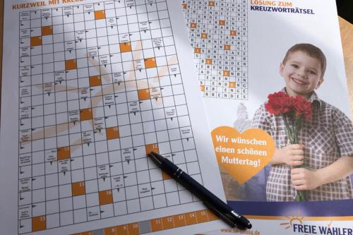 Kurzweil durch Kreuzworträtsel der Freien Wähler Sinzig